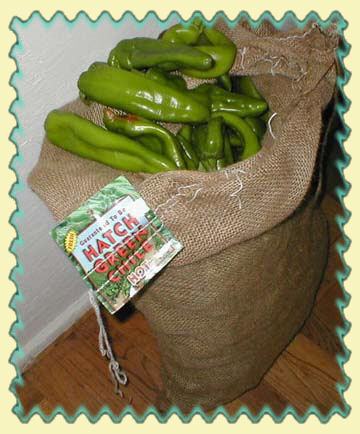 Get fresh chile when in season - HATCH CHILE the World's Best!