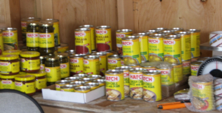 HATCH brand and canned and jarred chile products!