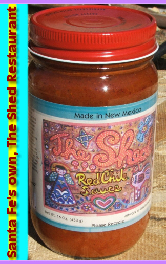 The premier red, or enchilada sauce - it's a Royal Red from The Shed in Santa Fe!!